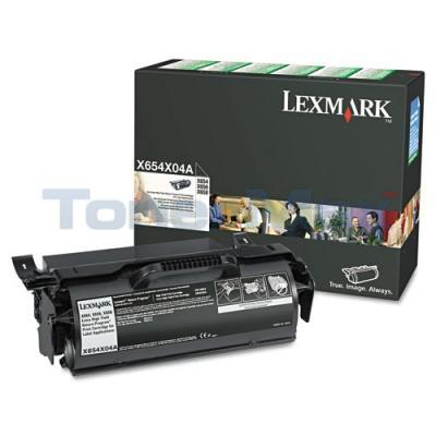 LEXMARK X654DE RP PRINT CTG FOR LABEL APPS 36K
